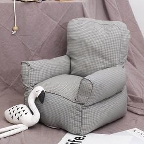 Schattige kinderen enkele mini sofa stoel kleuterschool sofa kind meubilair (grijs)