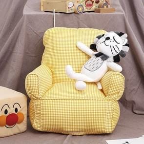 Schattige kinderen enkele mini sofa stoel kleuterschool sofa kind meubilair (geel)
