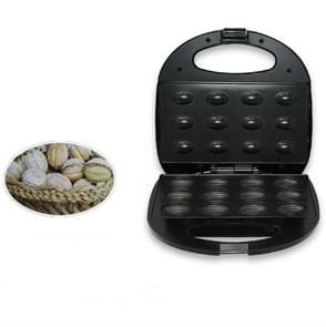 2 PC'S elektrische cake maker automatische mini huishoudelijke Nutter moer machine ontbijt pan oven