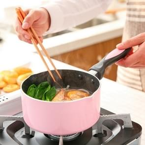 Mini Milk Pan Not-Sticky Heating Pot Portable Soup Pot Metal Flat-Bottomed Multifunction Egg Soup Noodles