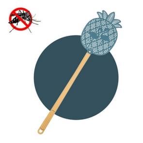 5 PCS Summer Plastic Fly Swatter Flycatcher  Style:Pineapple Pattern(Blue)
