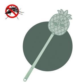 5 PCS Summer Plastic Fly Swatter Flycatcher  Style:Pineapple Pattern(Green)