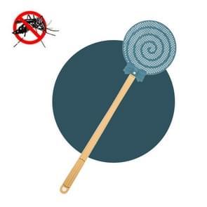 5 PCS Summer Plastic Fly Swatter Flycatcher  Style:Lollipop Patroon (Blauw)