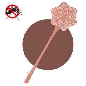 5 PCS Summer Plastic Fly Swatter Flycatcher  Style:Snowflake Patroon (Roze)
