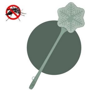 5 PCS Zomer Plastic Fly Swatter Flycatcher  Style: Snowflake Patroon (Groen)