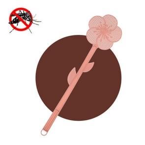 5 PCS Summer Plastic Fly Swatter Flycatcher  Style: Cherry Blossoms Patroon (Roze)