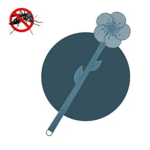 5 PCS Summer Plastic Fly Swatter Flycatcher  Style: Cherry Blossoms Patroon (Blauw)