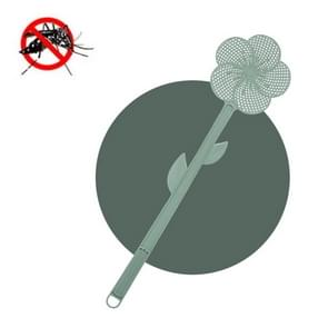 5 PCS Summer Plastic Fly Swatter Flycatcher  Style: Cherry Blossoms Patroon (Groen)