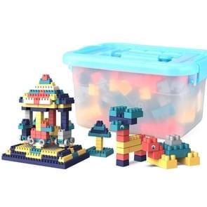 Kinderen Creatieve assembleren grote deeltjes van bouwstenen DIY educatieve speelgoed  willekeurige kleur levering