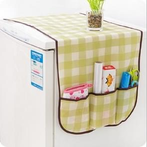Multi Purpose Dustproof Refrigerator Storage cover household items(Lattice)