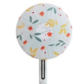 Floral Pattern Round Dust Proof Electric Fan Cover(Flower)