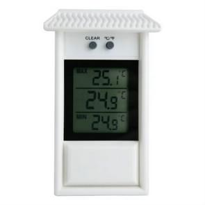 Eaves Shape Outdoor Garden Refrigerator Waterproof Thermometer(White)