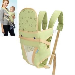 Zomer baby ademend Carrier eenvoudige riem (groen)