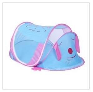 Pasgeboren baby bed Mosquito verrekening Baby Kids tent draagbare vouwen  grootte: 110 * 60 * 55cm (blauw)