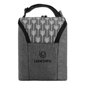 Baby Bottle Bags Insulation Bag Warmer Bottle Travel Bag, Style:Gray arrow