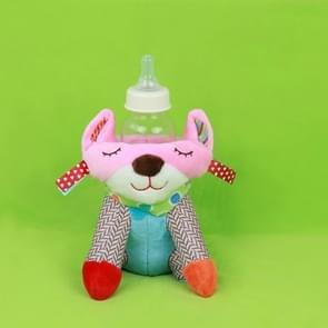 Animals Cartoon Baby Plush Warm Pouch Feeding Bottle, Style:Cat Kettle bag