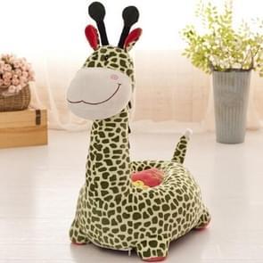 Baby Sofa Seat Cute Cartoon Children Small Seat Sofa Nest Chair Giraffe Plush Toy Sofa Seats For Boys Girls(Style 1)