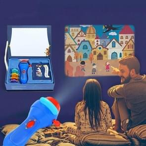 MiDeer Children Mini Projector Sleeping Stories Perform Projector(Blue)