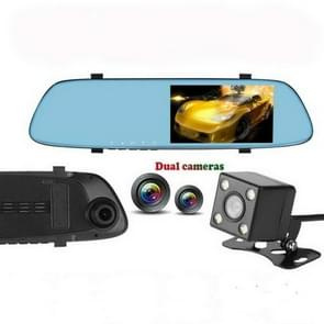 Anytek T22 auto camera 5 inch IPS touch-screen dubbele lens FHD 1080P auto DVR Camera