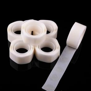 5 Rolls Small Double-Sided Glue Balloon Removable Non-Marking Glue Tape 100 Capsules(White)