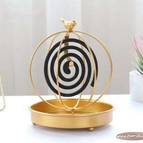 Simple and Creative Golden Iron Mosquito Coil(High Bird Cage)