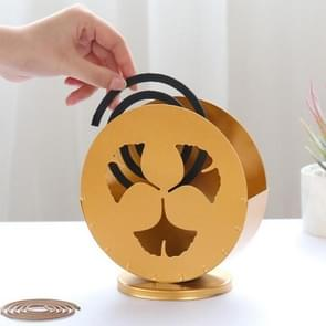 Simple and Creative Golden Iron Mosquito Coil(Ginkgo Leaf)