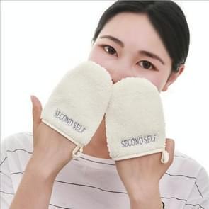 Herbruikbare gezichtsreiniging reinigende handschoenen tool