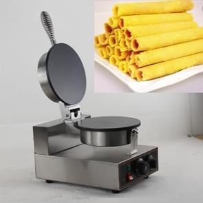 Stainless Steel Single-head Egg Roll Machine Ice Cream Crisp Egg Roller, Size:320x250x178cm