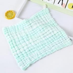 Baby Wash Bath Comfort Towel 6 Layer Gauze Baby Saliva Towel(Green)