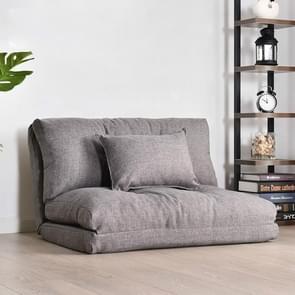 Dubbel doel klein appartement slaapkamer multifunctionele opvouwbare luie kleine slaapbank (90cm lichtgrijs)