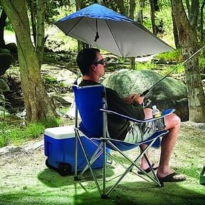 Draagbare vouwen outdoor Leisure Hengelsport stoel reizen Kampeerstoel met paraplu