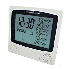 Quran Muslim Alarm Clock with Big Screen(White)
