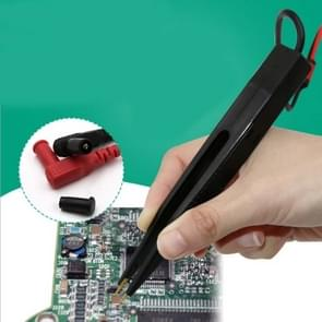 Chip Test Leads Component LCR Testing Tool Multimeter Tester Meter Pen Test Probe Lead Tweezers