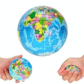 5 PCS World Map Squishy Doll Slow Rising Stress Relief Squeeze Toys, Size:6.3cm