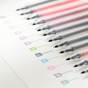 0.5mm Colour Ink Marker Gel Pens School Office Supplies 12 Color Suit