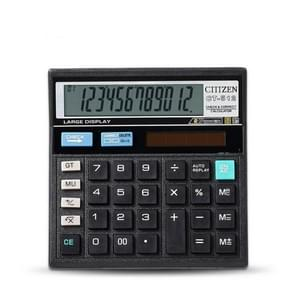 GTTTZEN CT512 Economical Solar Decoration Office Supplies Desktop Calculator