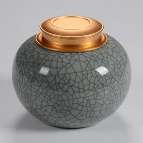 Ceramics Seal Celadon Ge Kiln Tea Can(A type of pink blue kiln tea pot )