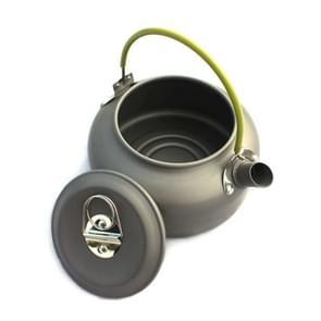0.8 l draagbare outdoor alpinisme picknick aluminium theepot waterkoker koffiepot  capaciteit: 0.8 L
