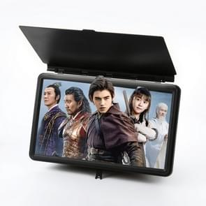 12 inch Anti-reflective Mobile Phone Magnifier Large Screen Projector 3D HD Video Amplifier(Black)