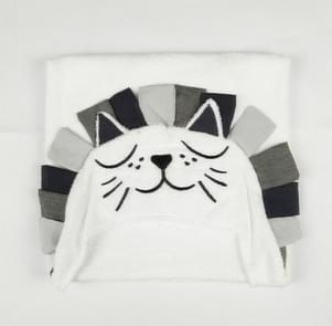 Baby Bath Towel Cotton Hooded Towel One Piece Solid Lion Kids Towel Hooded Blanket Infant Stuff(Lion king)