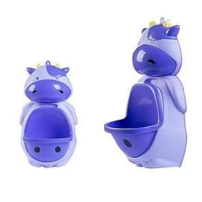 Kids Potty Toilet Urinal Pee Wall-Mounted Toilet Pee Trainer(Purple)