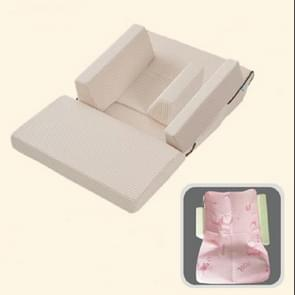 Baby Sofa Adjustable Children Childs Infant Portable Seat Chair Memory Foam Breast-Feeding Crate Box Armchair Sofa Bed Folding, Size:Single layer (15 degrees)