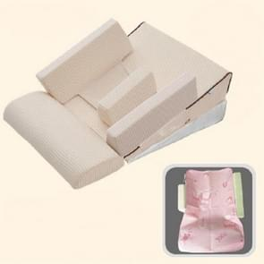Baby Sofa Adjustable Children Childs Infant Portable Seat Chair Memory Foam Breast-Feeding Crate Box Armchair Sofa Bed Folding, Size:Multi-angle double-layer models (15-20-25-30 degrees)