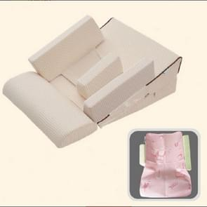 Baby Sofa Adjustable Children Childs Infant Portable Seat Chair Memory Foam Breast-Feeding Crate Box Armchair Sofa Bed Folding, Size:3 angle double model (10-15-25 degrees)