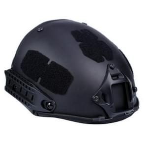 WoSporT WST-AF ABS Heavy Hunting Gear Helmet, One Size Suitable for Head Circumference: 52-64cm(Black)