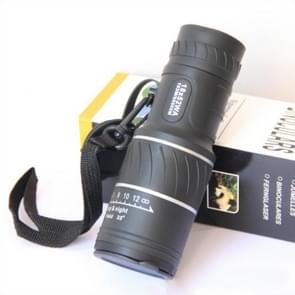 Bolanke 18X52 Monocular with Eyepiece Lens Cover Dual Focusing Low-light Night Vision Telescope