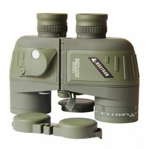 Bostron Telescope High-definition Navigation Floating 10X50 with Compass Waterproof Ranging Low Light Level Night Vision Binoculars