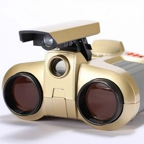 Children Night Vision Device 4X30 Binoculars with Lights Adjustable Focus Telescope
