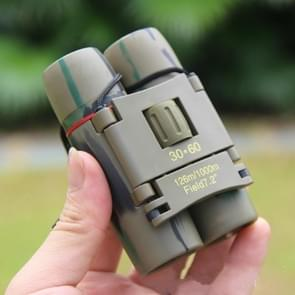 Pocket Telescope 30x60 Sakura Telescope Red Film Twilight Binoculars
