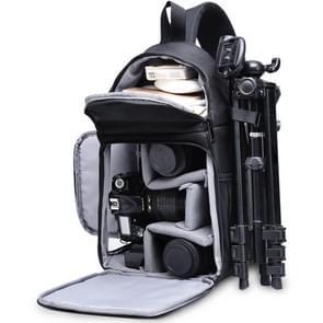 CADeN D15 Messenger Single Shoulder Multifunction Open Cover Photography Backpack Outdoor Leisure SLR Camera Backpack
